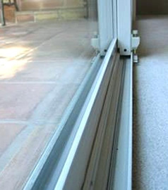 Sliding Patio Door Track Repair